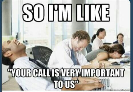 This is me at my last customer service job.
