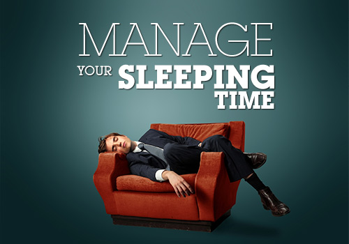 I read this book about how to manage the most innappropriate times to fall asleep.  It really helped.