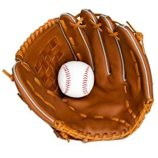 Nowadays, they use these to hide their steriods, but back then we used them to catch baseballs.