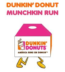 Who's ready for a donut run?  As I mentioned earlier this week, I don't run, but I will accept a donut or 10.