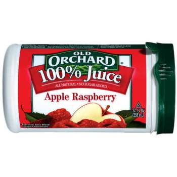 Exactly like this, except it was in a bottle and it said Aronia Berry Juice instead of Apple Raspberry.