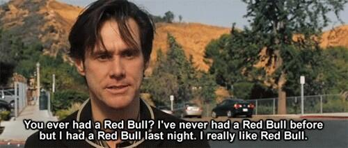 James Carrey.  My favorite actor is actually Canadian.  He isn't crazy because of hyper activity, but because of Red Bull.