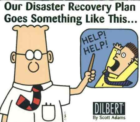 How we survive Work Disasters.