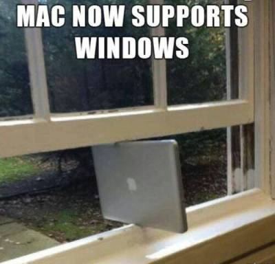 Macs hold up pretty well.