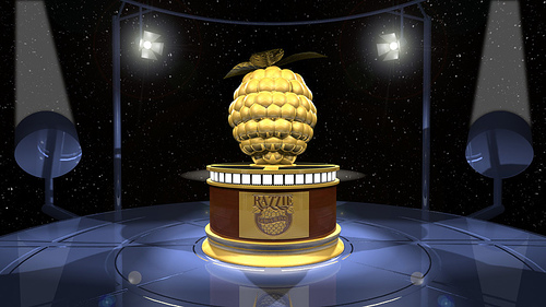 The award is like a Razzie, but much more bitter.