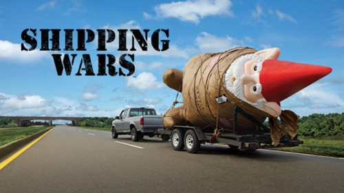 We're going to use the garden gnome to start a war?  Oh, now I get why they are calling it a Shipping War.