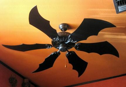 Behold, some of my Batgear.  The Batfan.