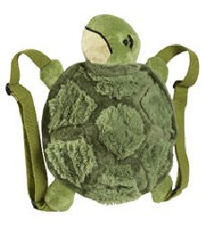 Look at me, I'm a really scared turtle with strings attached to my legs.  Helllp!