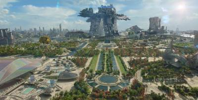 Live from the one city in Guardians of the Galaxy, the Super Bowl!