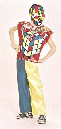 The latest and greatest new superhero, Rubik's Cube Man!