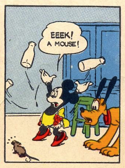 Hey Minnie, you do realize YOU are a mouse, right?