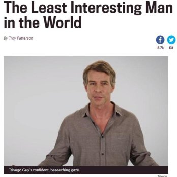 Yeah, this Trivago guy.