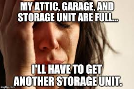 Need more storage units.