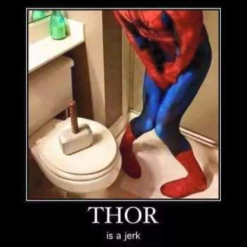 Thor is a jerk.