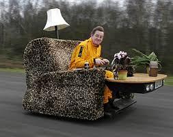 I take my recliner everywhere.