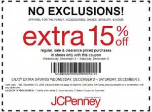 no exclusions jcpenney printable coupons 300222