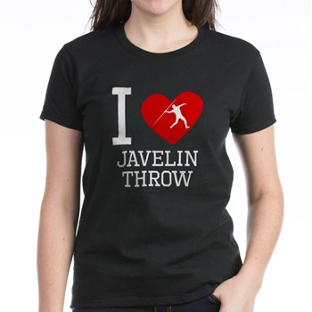 Javelins through heart.
