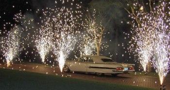 Car firework show!