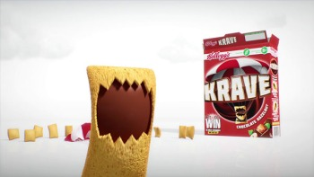 Krave eating its own kind.