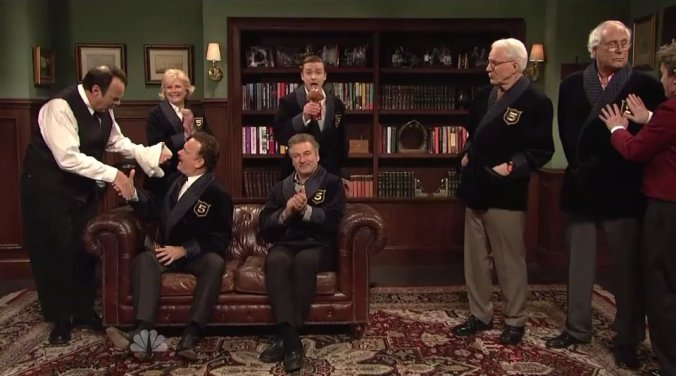 While Saturday Night Live might have a dozen 5 time hosts, there may be only one in the 800 Bitter Post Club.